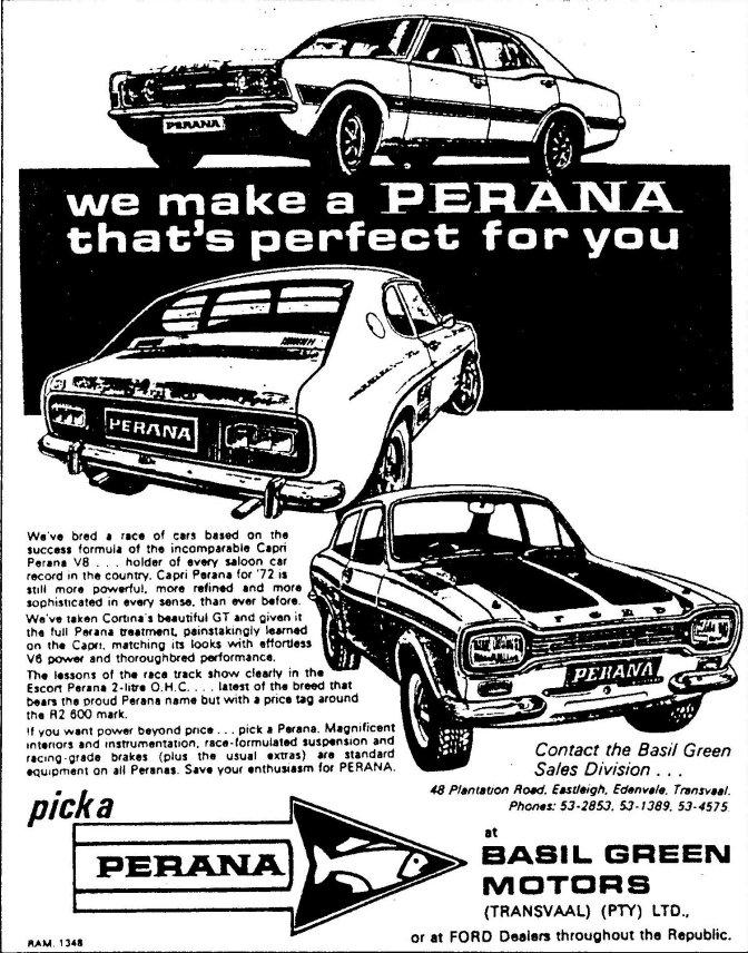Werbung von BG Motors